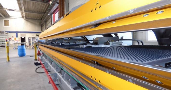 Doppelbiegemaschine von Thalman 6 Meter breit