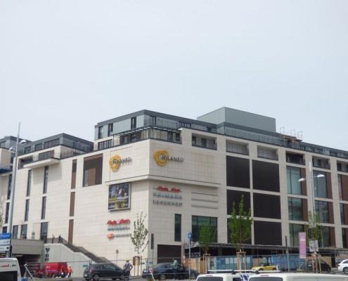 Milaneo Stuttgart Einkaufsgebäude
