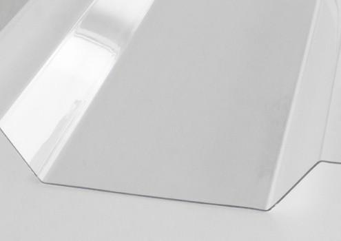 Lichtplattein Trapezform