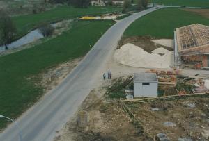 Luftbild von Peter und Söhne