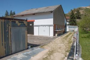 erste Lagerhalle in Schelklingen